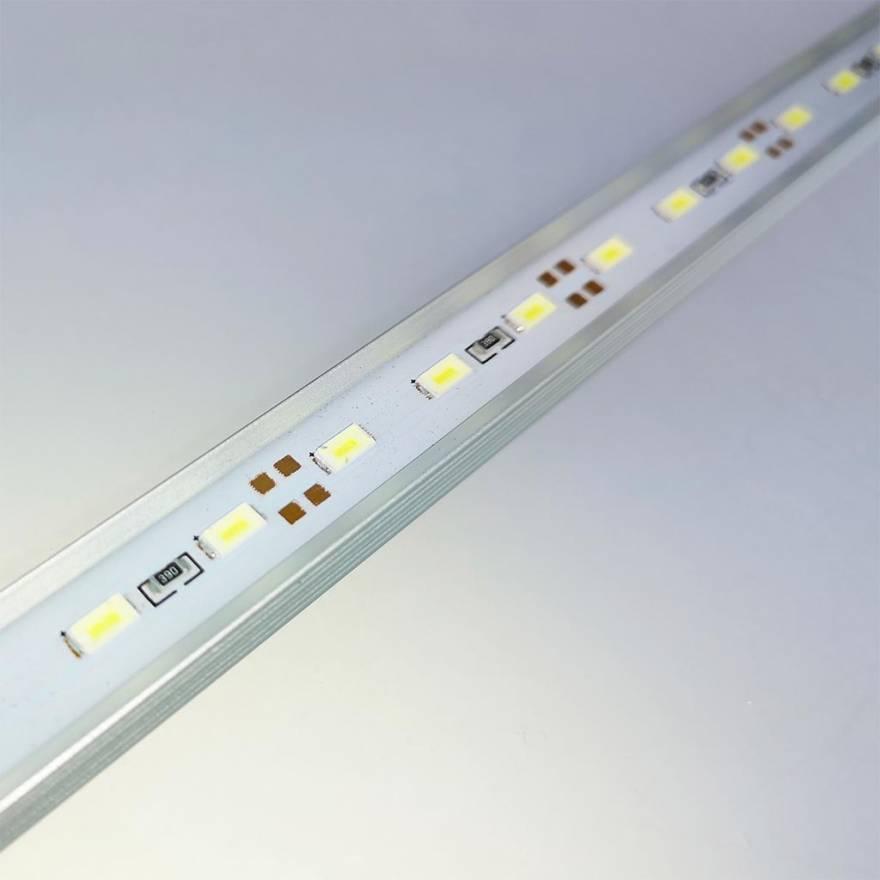 solarox led leiste aluminium 50cm wei wasserdicht. Black Bedroom Furniture Sets. Home Design Ideas