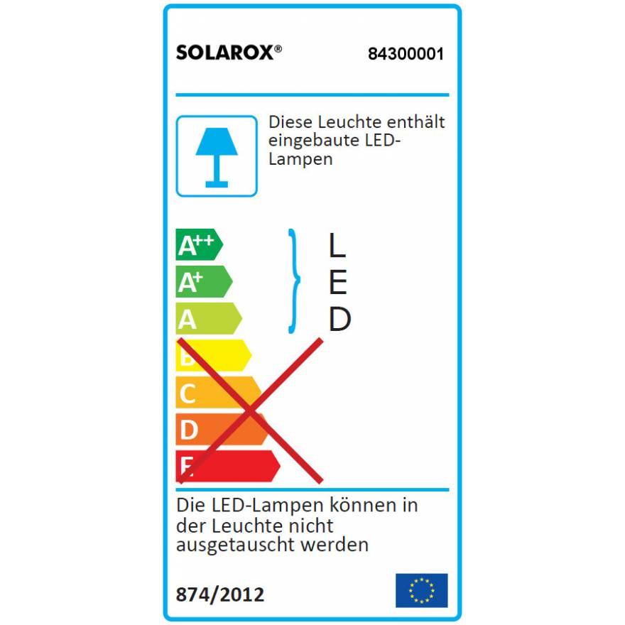 SOLAROX® LED-Downlight DLS6 warmweiß - 3.000K