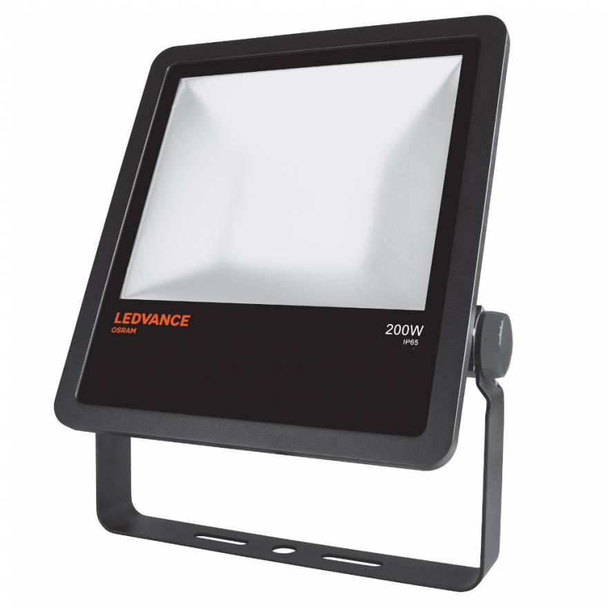 Ledvance led floodlight 200w 4000k projecteur noir for Projecteur led exterieur 200w
