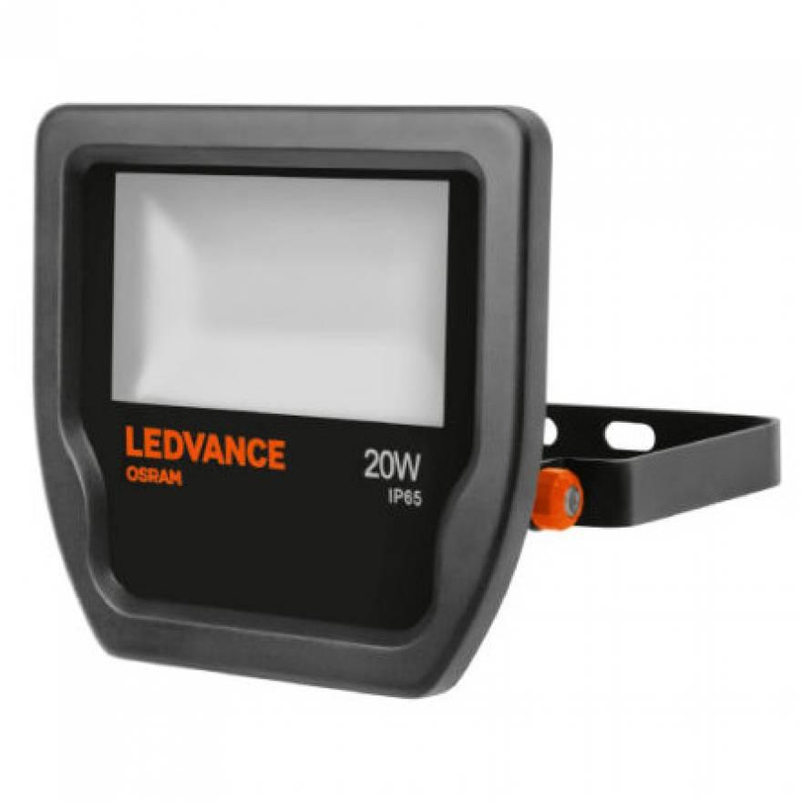 Led Floodlight Ledvance 174 20w 3000k Proyector Negro