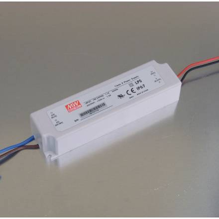 LED-Switching Power Supply 24V 1 5A for outdoor use (IP67)