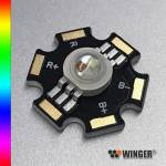 WINGER® WEPRGB9-S1 Power LED Star RGB 9W
