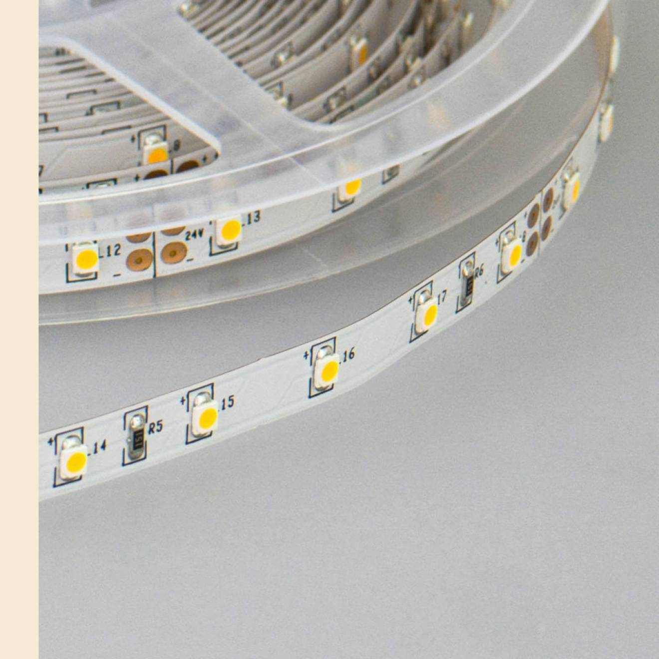 solarox 24v led strip 5m rolle warmwei. Black Bedroom Furniture Sets. Home Design Ideas